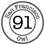 Circles 91 Owl