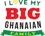 I Love My Big Ghanaian Family Tshirts