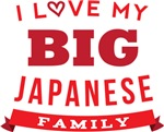 I Love My Crazy Japanese Family Tshirts