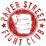 Paper Street Fight Club (red print)