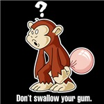 Don't Swallow Your Gum (Black)