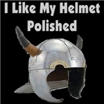 I Like My Helmet Polished