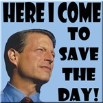 Al Gore - Here I Come To Save The Day!