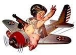 J C LEYENDECKER'S FAT BABIES