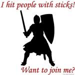 Hit with Sticks!