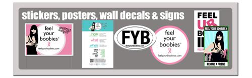 Stickers, Posters, Wall Decals & Signs