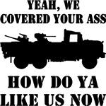 Gun Trucks Covering Your Ass