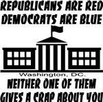 Republicans Are Red Democrats Are Blue