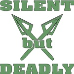 Crossed Arrows Silent But Deadly