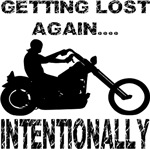Biker Getting Lost Again Intentionally