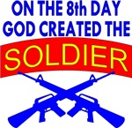 8th Day God Created Soldier Army
