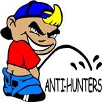 P On Anti-Hunters