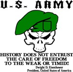 U.S. Army History Does Not Entrust Freedom