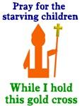 Pray for starving children