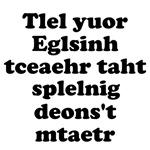 English Teachers Spelling