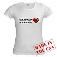 Half My Heart is in Kosovo!