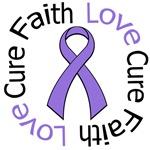 Hodgkin's Disease Faith Love Cure T-Shirts & Gifts