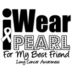 I Wear Pearl Ribbon For My Best Friend Shirts
