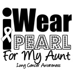 I Wear Pearl Ribbon For My Aunt Shirts