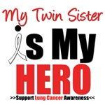 Lung Cancer Hero (Twin Sister) Shirts & Gifts