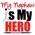 Lung Cancer Hero (Nephew) Shirts & Gifts