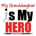 Lung Cancer Hero (Granddaughter) Shirts & Gifts