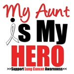 Lung Cancer Hero (Aunt) Shirts & Gifts