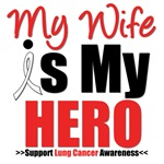 Lung Cancer Hero (Wife) Shirts & Gifts