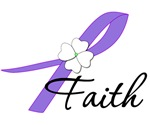 Hodgkin's Lymphoma Faith Ribbon T-Shirts & Gifts