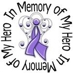 In Memory of My Hero Hodgkin's Lymphoma Shirts