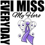 Every Day I Miss My Hero Hodgkin's Lymphoma Shirts