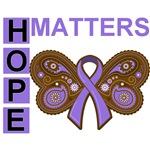 Hodgkin's Lymphoma Hope Matters Shirts and Gifts