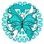 Cervical Cancer Butterfly Shirts and Gifts