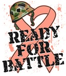 Uterine Cancer Ready For Battle Shirts