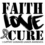 Hope Love Cure Carcinoid Cancer Shirts
