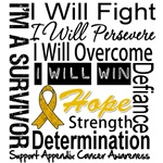 Appendix Cancer Persevere Shirts