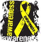 Ewing Sarcoma Awareness Grunge Shirts