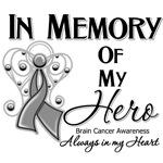 In Memory of My Hero Brain Cancer Shirts
