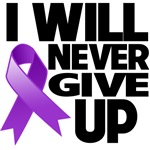 I Will Never Give Up Pancreatic Cancer Shirts