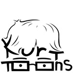 Items with the Kurttoons logo