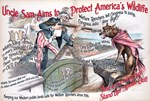 Uncle Sam Aims to Protect America's Wildlife