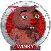 Winky's Red Portrait