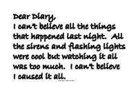 Dear Diary 10