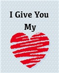 I Give You My Heart Cat Forsley Designs