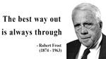 Robert Frost Quote 16
