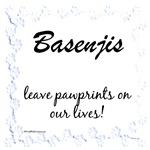 Basenji Pawprints