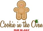 Cookie in the Oven Due July