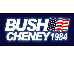 BUSH - CHENEY 1984