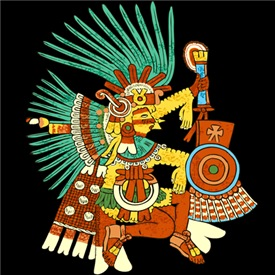 Quetzalcoatl T shirts/Hoodies/Bags