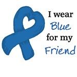 I wear DARK BLUE....